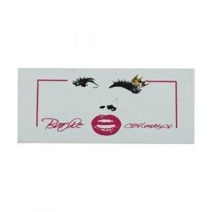 wholesale white pink rectangle private custom lashes box 1